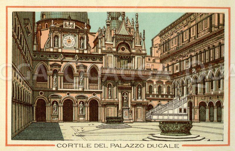 Venedig: Cortile des Palazzo Ducale