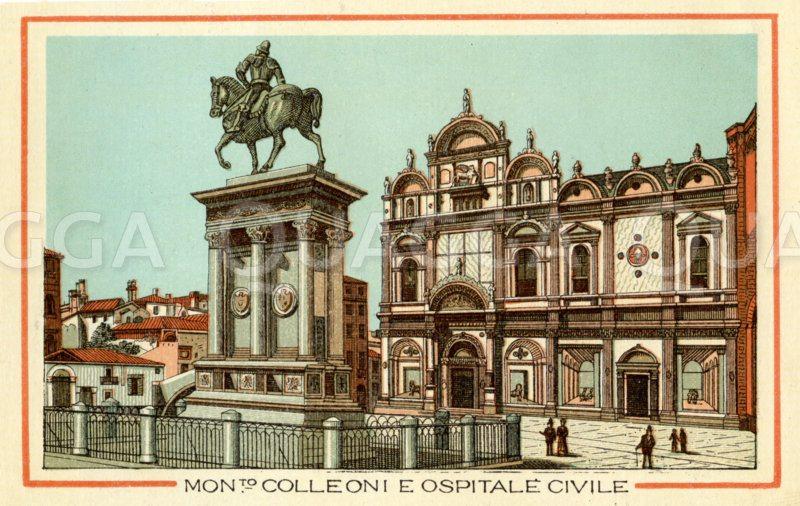 Venedig,: Mont Colleoni E Ospitale Civile
