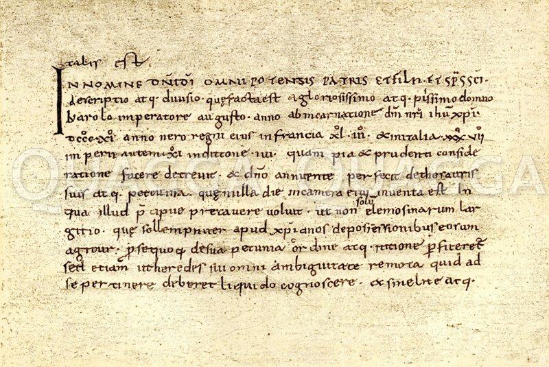 Testament Karls des Großen