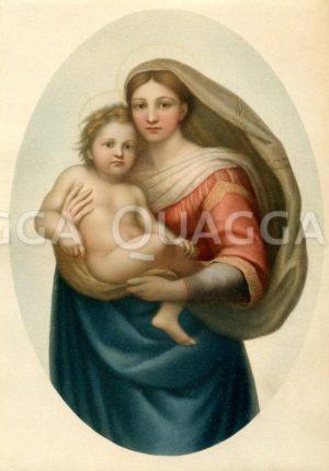Sixtinische Madonna von Raffael