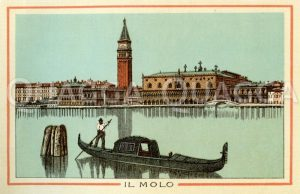 Venedig: Il Molo Zeichnung/Illustration