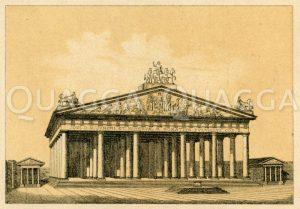 Templum Jovis Capitolini Zeichnung/Illustration