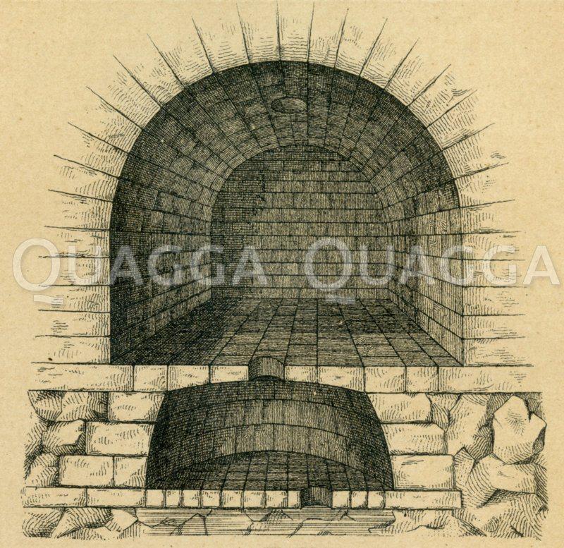 Carcer. Tullianum Zeichnung/Illustration