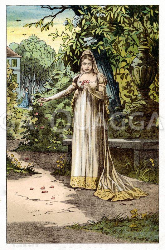 Königin Luise III. Zeichnung/Illustration