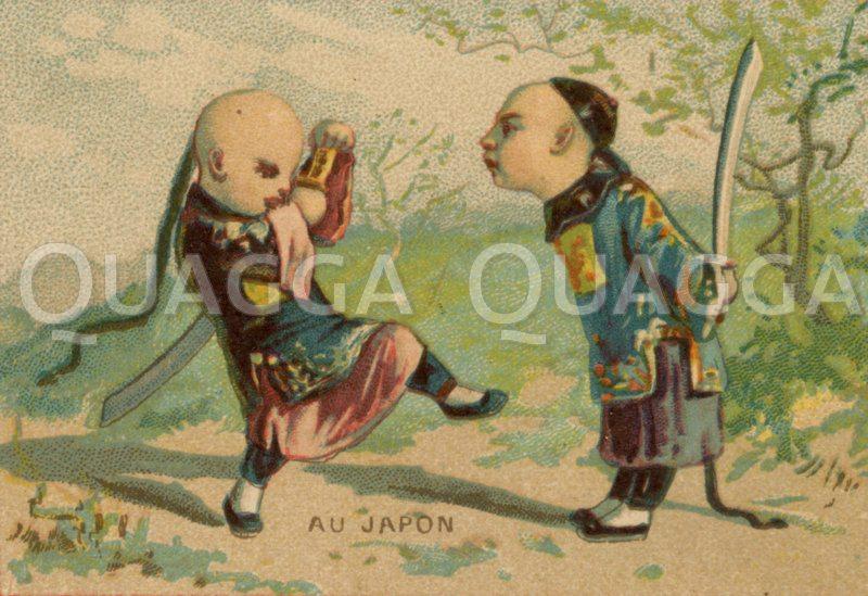 Kämpfende Japaner