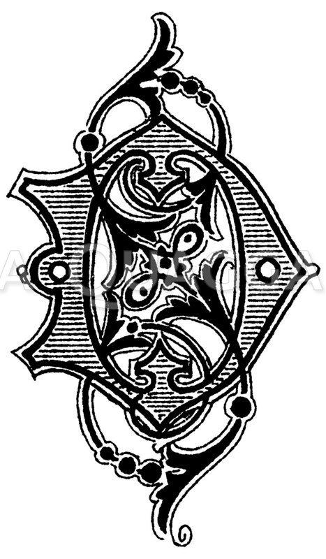 Monogramm SD Zeichnung/Illustration