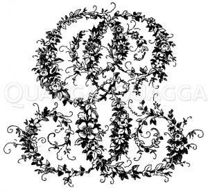 Monogramm GE Zeichnung/Illustration
