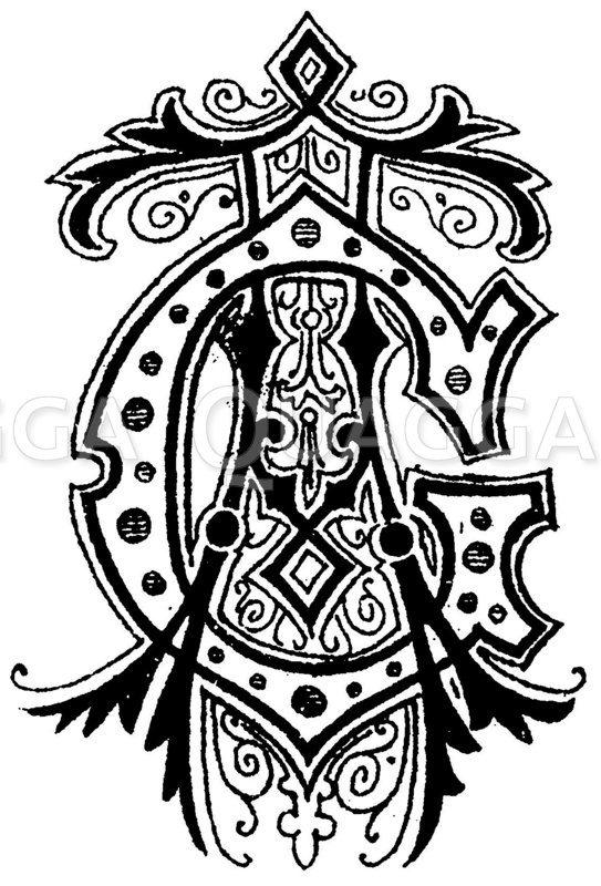 Monogramm AG Zeichnung/Illustration
