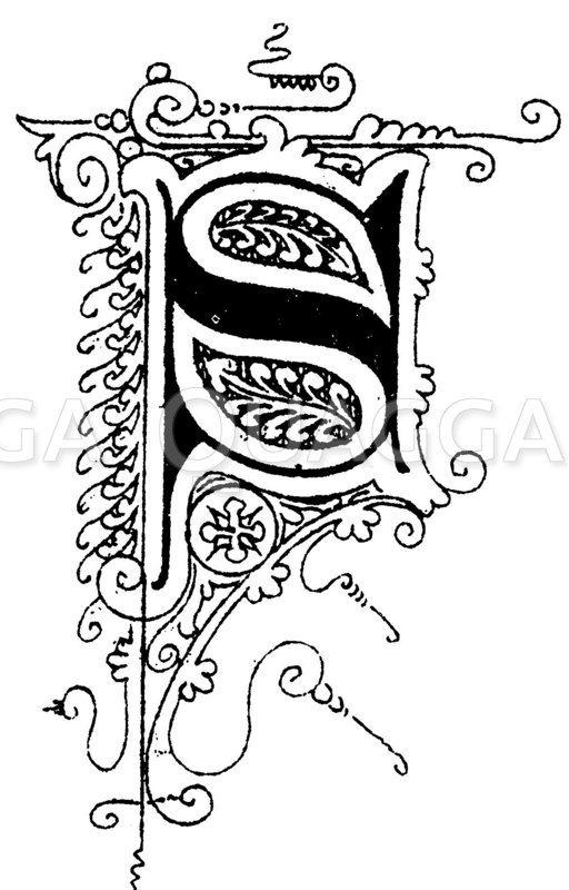 Alte Schriftart Tattoos