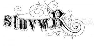 Alphabet: Jugendstil