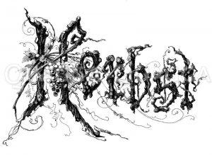 Schriftzug: Herbst Zeichnung/Illustration