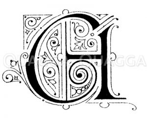 Buchstabe A Zeichnung/Illustration