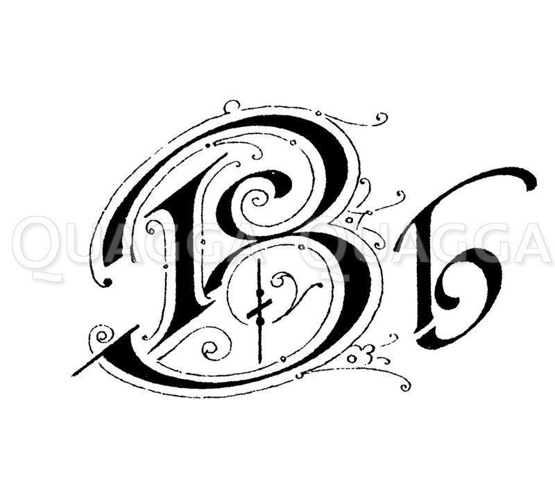 Buchstabe B Zeichnung/Illustration