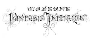 Schriftzug: Fantasie-Initialen