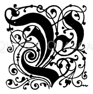 Buchstabe P Zeichnung/Illustration