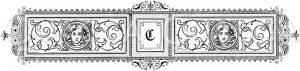 Buchstabe C Zeichnung/Illustration