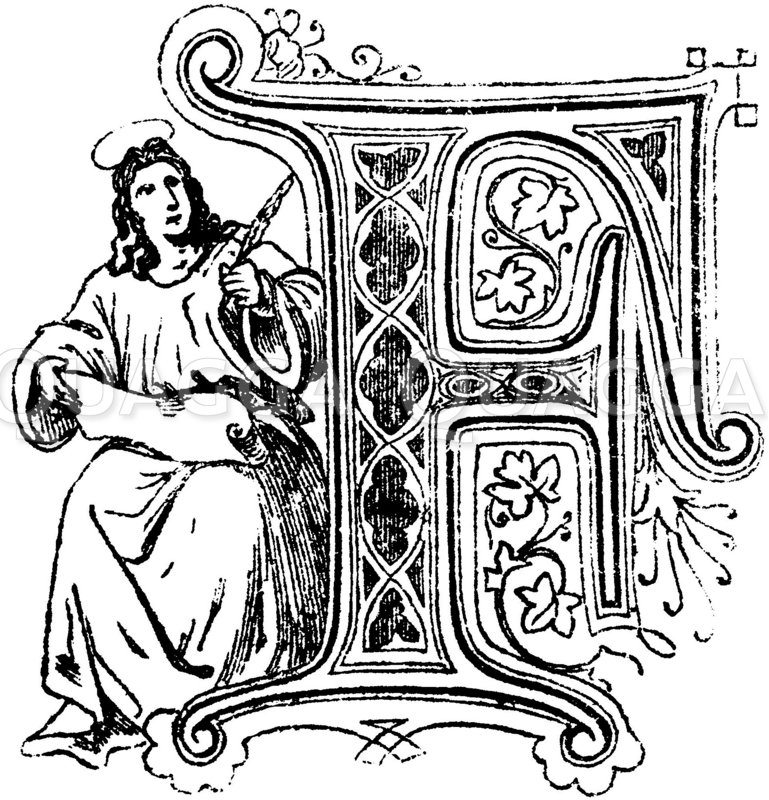 Buchstabe F: religiöses Motiv
