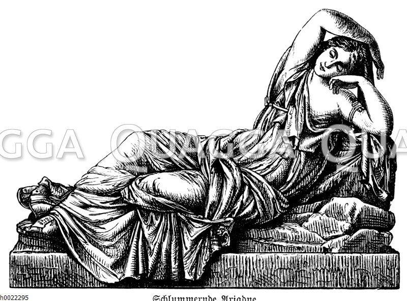 Schlummernde Ariadne