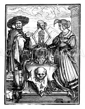 Wappen des Todes Zeichnung/Illustration