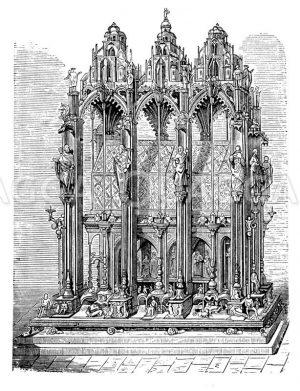 Sebaldusgrab von Peter Vischer Zeichnung/Illustration