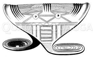 Böhmischer Armschild Zeichnung/Illustration