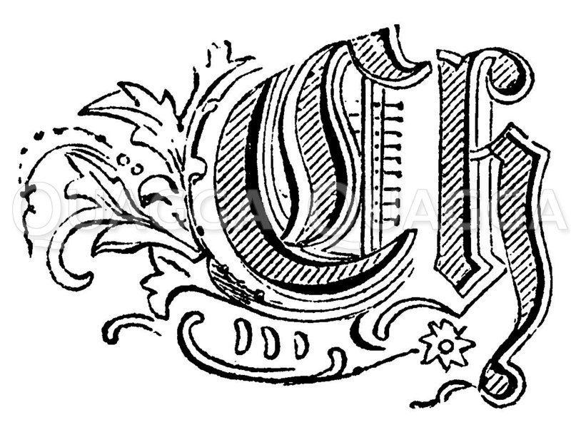 Buchstabe Ch Zeichnung/Illustration