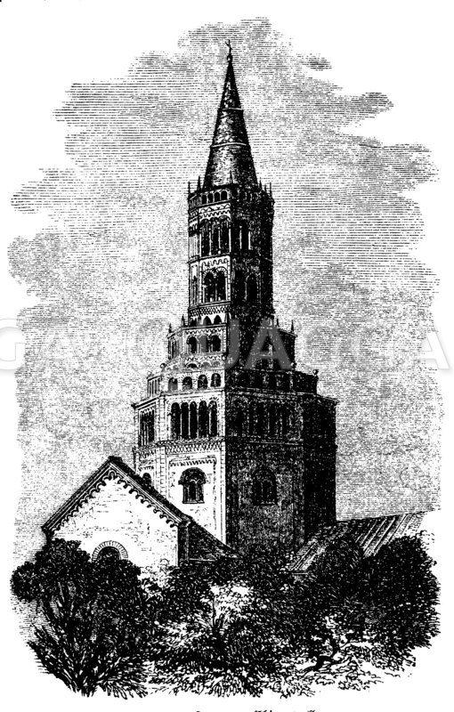 Dom von Chiaravalle Zeichnung/Illustration