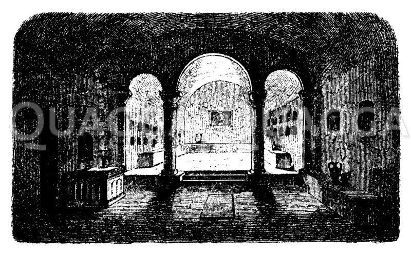 Columbarium Zeichnung/Illustration
