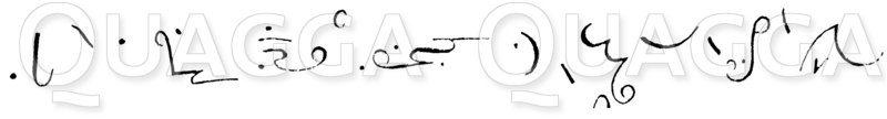 Stenographie. Isaak Pitman Zeichnung/Illustration