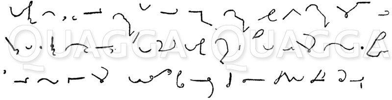 Stenographie. Prévost-Delaunay