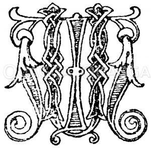Monogramm von Dir. Götz. (Umberto