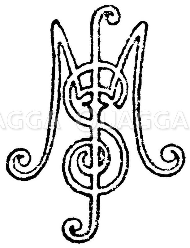 Monogramm MS Zeichnung/Illustration