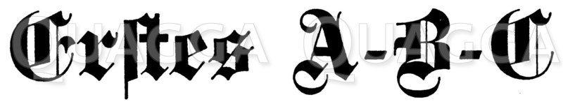 Schriftzug 'Erstes A-B-C' Zeichnung/Illustration