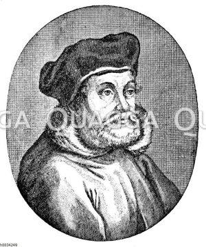 Johann Brenz (nach einem Kupferstich)