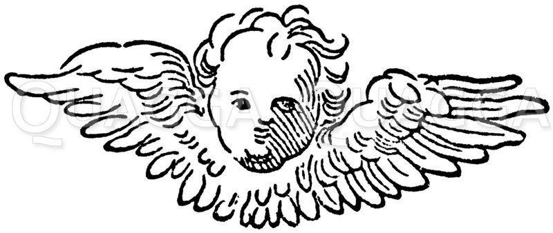 Engel Zeichnung/Illustration