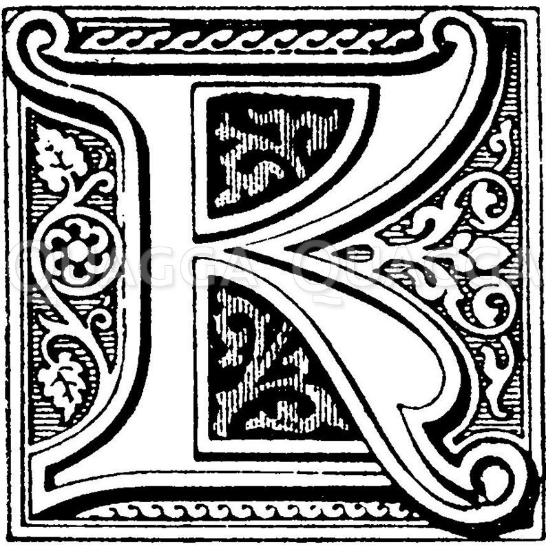 Buchstabe S mit Vögelchen Zeichnung/Illustration