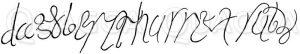 Unterschrift Dagoberts I. Zeichnung/Illustration