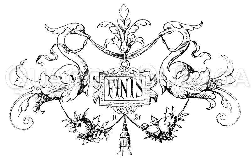 Vignette: Finis Zeichnung/Illustration