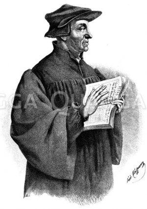 Ulrich Zwingli Zeichnung/Illustration