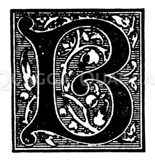 Buchstaben, Initialen