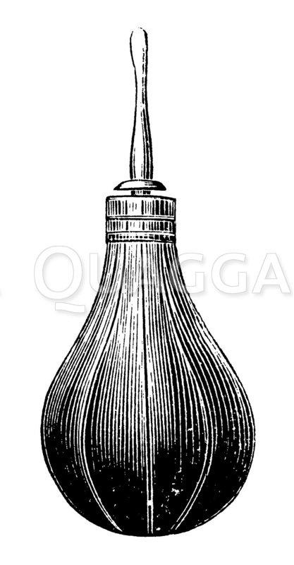 Gummiklistierspritze für kleine Kinder Zeichnung/Illustration