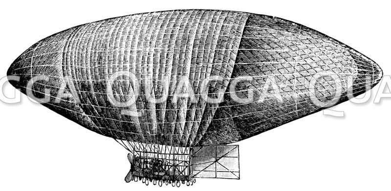 Wölferts lenkbares Luftschiff