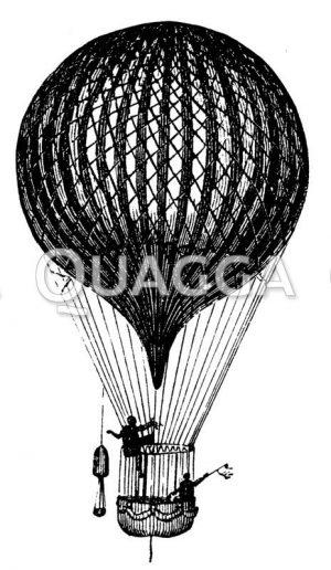 Heißluftballon von Charles (Charlière