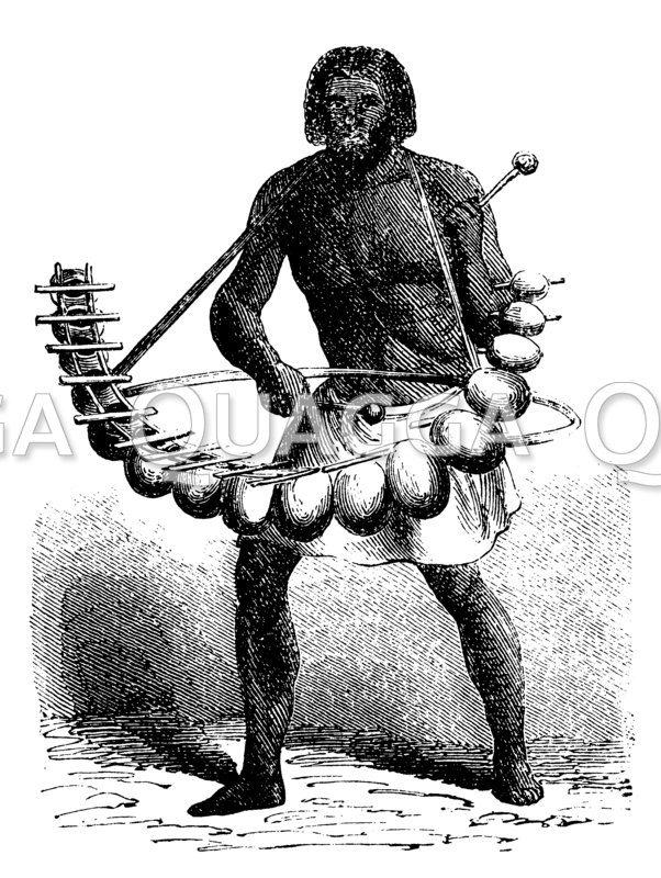 Marimba-Spieler