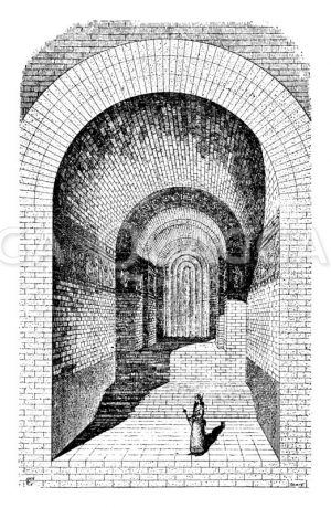 Gemach im Harem zu Khorsabad Zeichnung/Illustration