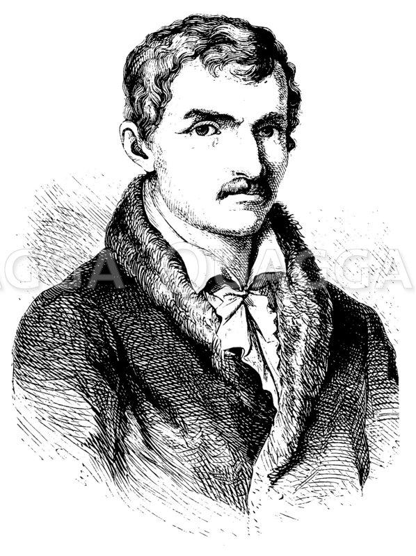 Johann Gottfried Seume Zeichnung/Illustration