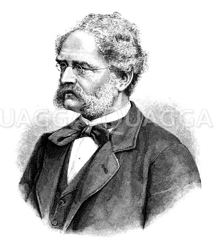 Werner von Siemens Zeichnung/Illustration