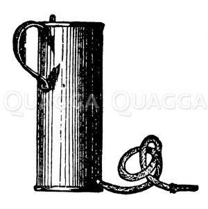 Irrigator Zeichnung/Illustration