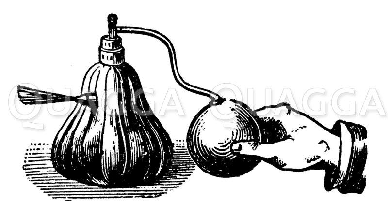 Bestäubungsapparat Zeichnung/Illustration