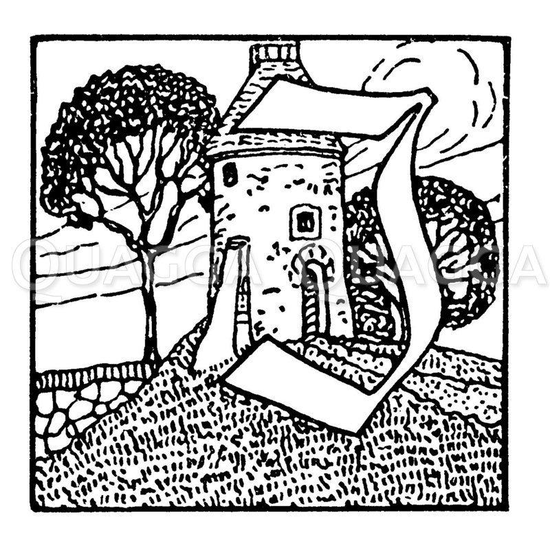 Buchstabe J Zeichnung/Illustration